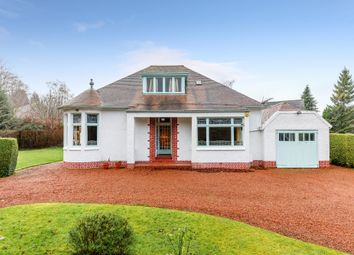 Thumbnail 3 bed detached bungalow for sale in Milverton Road, Giffnock