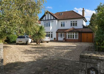 Thumbnail 5 bed detached house for sale in The Avenue, Clevedon