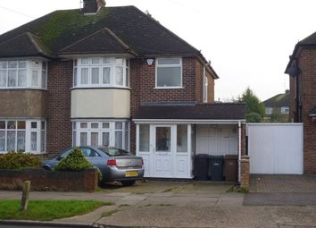 Thumbnail 3 bed property to rent in Stoneygate Road, Luton, Bedfordshire