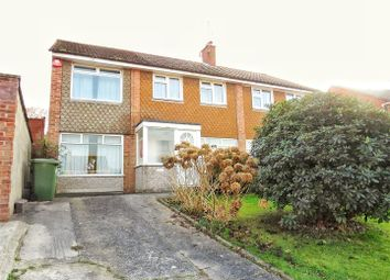 Thumbnail 5 bed semi-detached house for sale in Moorland Drive, Plympton, Plymouth