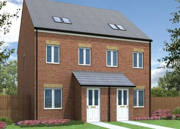 "Thumbnail 3 bedroom town house for sale in ""The Swale"" at Elfin Way, Blyth"