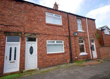 Thumbnail 2 bed terraced house for sale in Barrack Terrace, Kibblesworth, Gateshead