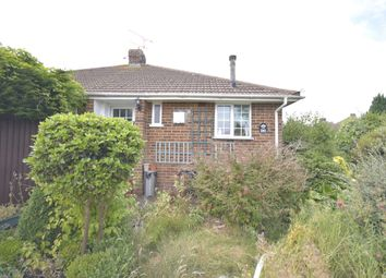 Thumbnail 1 bed bungalow for sale in Elmstone Road, Gillingham