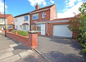 Thumbnail 2 bedroom semi-detached house for sale in Farne Road, Forest Hall, Newcastle Upon Tyne