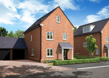 "Thumbnail 4 bedroom property for sale in ""The Claremont"" at Basingstoke Road, Spencers Wood, Reading"
