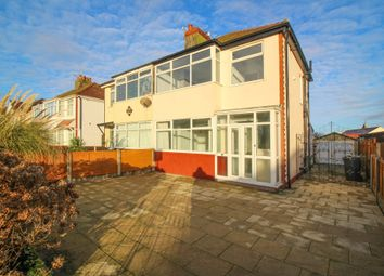 Thumbnail 3 bed semi-detached house for sale in Cumberland Avenue, Thornton-Cleveleys