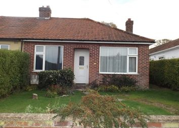 Thumbnail 2 bed bungalow to rent in Hawthorne Avenue, Norwich