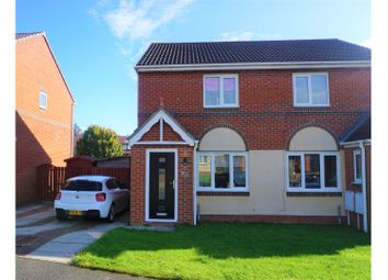 Thumbnail 2 bed semi-detached house for sale in Cestria Way, Newton Aycliffe