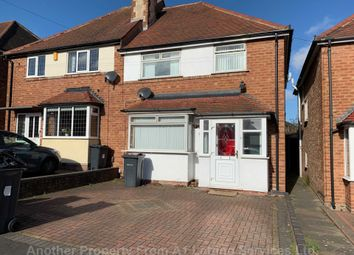 Thumbnail 3 bed semi-detached house to rent in Ollerton Road, Yardley, Birmingham