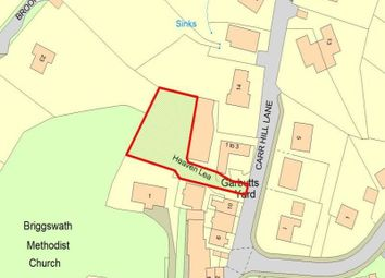 Thumbnail Land for sale in Garbutts Yard, Carr Hill Lane, Briggswath, Whitby