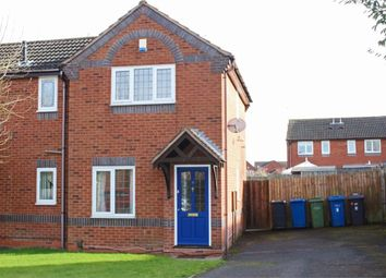 Thumbnail 2 bed semi-detached house to rent in Rutland Drive, Fazeley, Tamworth, Staffordshire