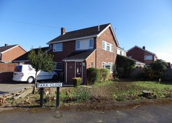 Thumbnail 3 bed detached house to rent in Park Close, Little Paxton, St. Neots