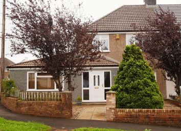 Thumbnail 4 bed semi-detached house for sale in Danygraig Drive, Talbot Green