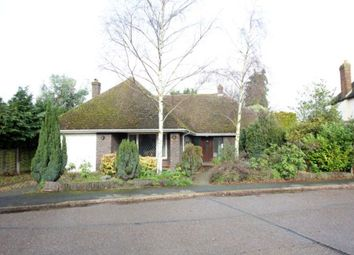 Thumbnail 3 bed detached bungalow for sale in Vicarage Avenue, Egham
