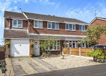 Thumbnail 4 bedroom semi-detached house for sale in Solway Grove, Longton, Stoke-On-Trent