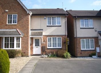 Thumbnail 2 bed town house to rent in Cherry Hills Road, Leicester