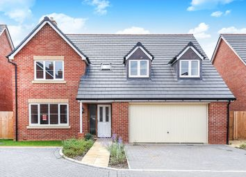 Thumbnail 4 bed detached house for sale in Queens Close, Watchfield, Swindon