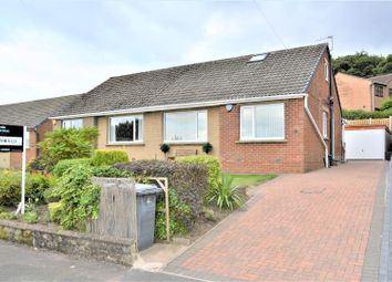 Thumbnail 3 bedroom semi-detached bungalow for sale in Cowrakes Close, Huddersfield