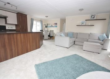 Thumbnail 2 bed mobile/park home for sale in Weston Park Homes, Weston Road, Portland