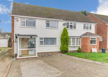 Thumbnail 3 bed semi-detached house for sale in Parkway, Pound Hill, Crawley
