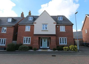 Thumbnail 5 bed detached house for sale in Finch Road, Leicester, Leicestershire