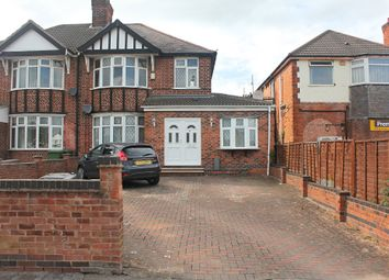Thumbnail 5 bed semi-detached house for sale in Narborough Road South, Braunstone, Leicester