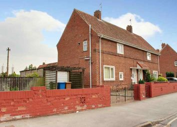 Thumbnail 2 bed semi-detached house for sale in Holderness Crescent, Beverley