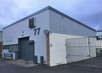 Industrial to let in Unit 77 Springvale Industrial Estate, Cwmbran NP44