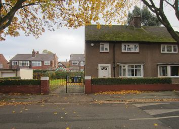 Thumbnail 3 bed semi-detached house to rent in Reynolds Road, Old Trafford, Manchester