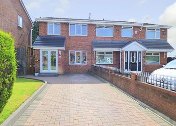 Thumbnail 3 bedroom semi-detached house for sale in Charnwood Close, Rubery / Rednal