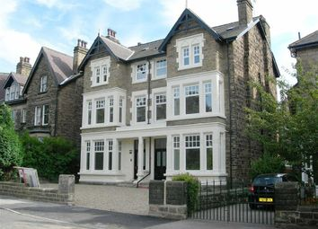 Thumbnail 3 bedroom flat to rent in Grove Road, Harrogate, North Yorkshire
