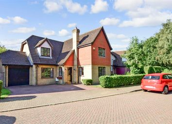 4 bed detached house for sale in Lambourne Drive, Kings Hill, West Malling, Kent ME19