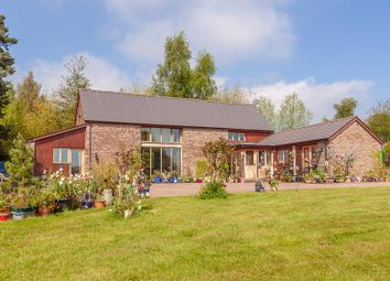 Thumbnail 3 bed barn conversion for sale in Newton St. Margarets, Hereford