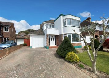 Thumbnail 3 bed detached house for sale in Ashurst Drive, Goring-By-Sea, Worthing