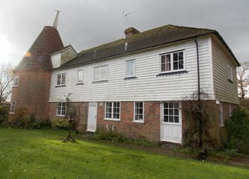 Thumbnail 4 bed detached house to rent in Tenterden Road, Biddenden, Ashford