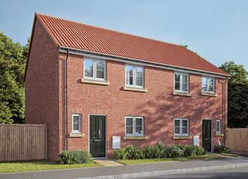"Thumbnail 3 bed semi-detached house for sale in ""The Eveleigh"" at Fenwick Road, Scartho Top, Grimsby"