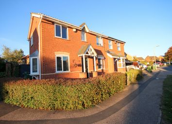 Thumbnail 3 bed semi-detached house for sale in Acacia Close, Leicester Forest East, Leicester
