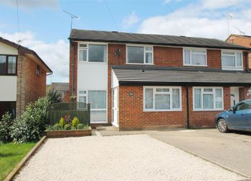 Thumbnail 3 bedroom semi-detached house for sale in Columbine Road, Widmer End, High Wycombe