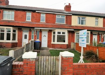 Thumbnail 3 bedroom terraced house to rent in Powell Avenue, Blackpool, Lancashire