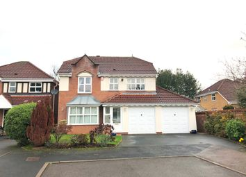 Thumbnail 4 bed detached house to rent in Buckton Close, Sutton Coldfield