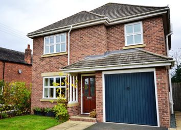 Thumbnail 4 bedroom detached house for sale in Holly Drive, Market Drayton