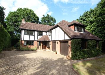 Thumbnail 5 bed detached house to rent in Fairway Close, Hook Heath, Woking