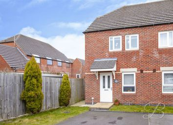 Thumbnail 2 bed semi-detached house for sale in Albans Court, Forest Town, Mansfield