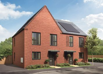"""Thumbnail 3 bedroom semi-detached house for sale in """"The Clyde"""" at Showell Road, Wolverhampton"""