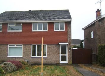 Thumbnail 3 bed semi-detached house to rent in Heol Yr Wylan, Cwmrhydyceirw