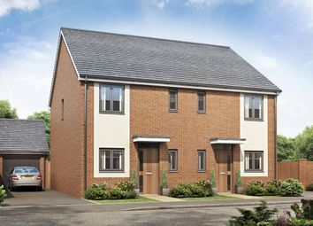 Thumbnail 3 bed semi-detached house for sale in Ivinson Way, Bramshall, Uttoxeter