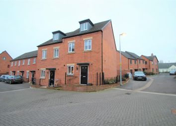 Thumbnail 3 bed semi-detached house for sale in Lineton Close, Lawley Village, Telford