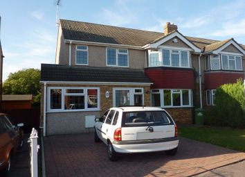 Thumbnail 3 bedroom semi-detached house to rent in Tyfield Close, Cheshunt, Hertfordshire
