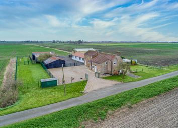 Thumbnail 5 bed detached house for sale in East Fen Lane, New Leake, Boston