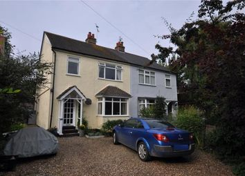 Thumbnail 3 bed semi-detached house for sale in The Chase, Park Street, Thaxted, Essex